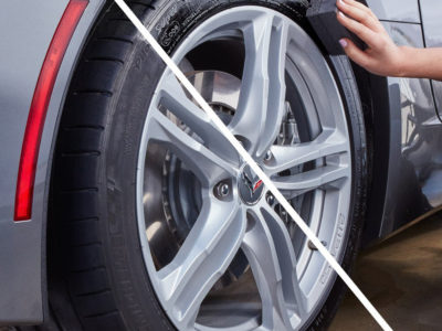 Shine Your Tires Without The Mess